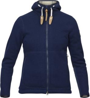 Fjällräven Women's Polar Fleece Jacket Dame mellanlager tröjor Blå XS