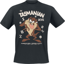 Looney Tunes - Tasmanian Devil -T-skjorte - svart