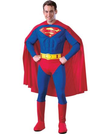 Lisensiert Superman Kostyme