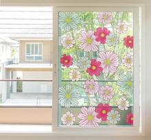 Sierlijke sticker voor raam