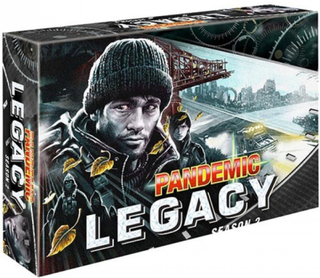 Pandemic legacy: season 2 black brädspel