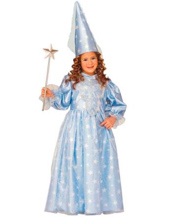 Princess Twinkle Star - barndräkt - Ljusblå