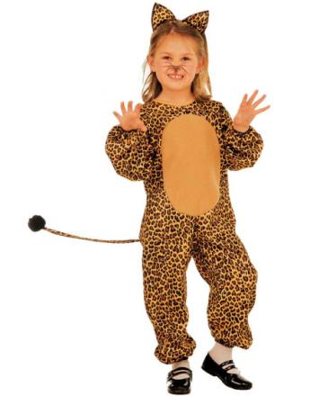 Leopard Sötnos Barnkostym
