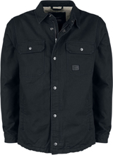 Vintage Industries - Dean Sherpa -Overgangsjakke - svart