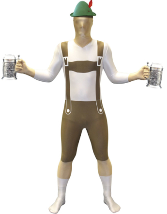 Oktoberfest Lederhosen - Original Morphsuit Kostyme