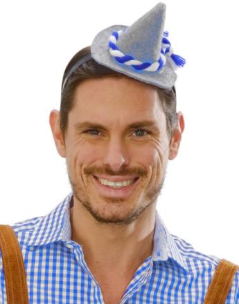 Hårbøyle med Mini Oktoberfesthatt