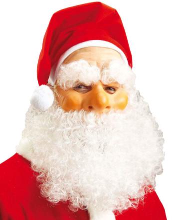 Julenisselue med Maske & Skjegg