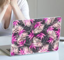 Stickers voor laptop kleurrijke planten