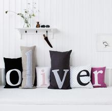 Bokstavskudde- x, Oliver Furniture