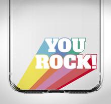 iPhone you rock sticker