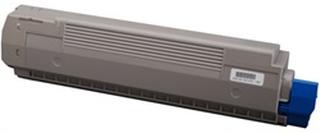 OKI 44643004 toner sort 7.000 sider kompatibel OKI C801, OKI C821