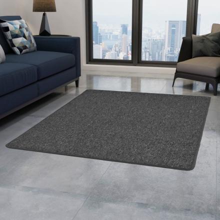 vidaXL Tuftad matta 160x230 cm grå