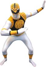 Morphsuit Power Ranger White - Kostyme
