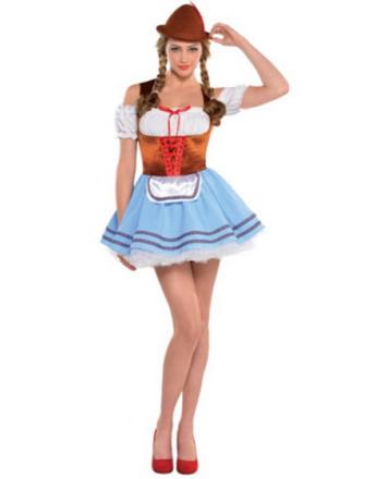Oktoberfest Liebchen - Kostyme med Hatt