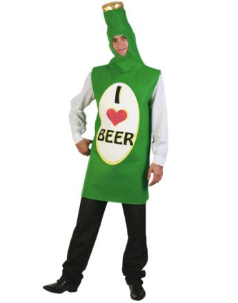 Ølflaske Kostyme