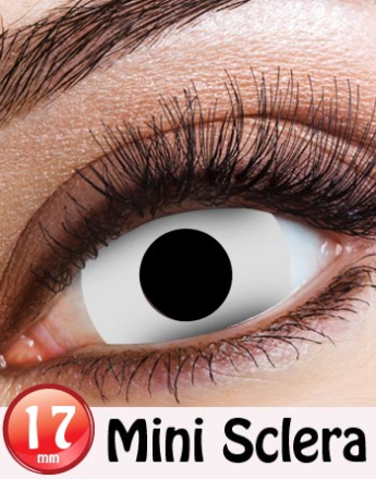Cream Mini Sclera 17 mm Crazylinser