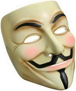 Guy Fawkes - V for Vendetta Maske
