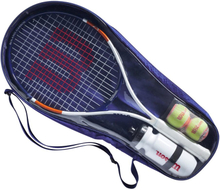 Wilson Roland Garros Elite 25 Kit Kinderschläger Griffstärke 0