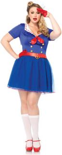 Ahoy Sailor Lady - Kostyme