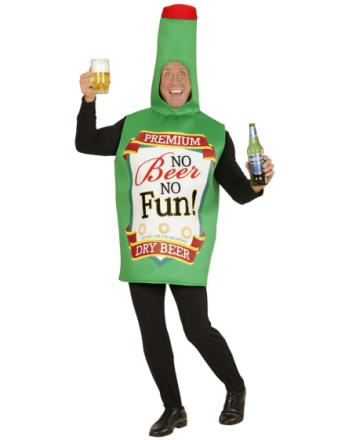 Øl-Flaske Kostyme