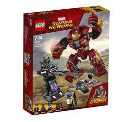 76104 LEGO Super Heroes Hulk-kamprobotten på smadretur - wupti.com