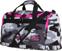 CoolPack sportstaske - Fitt Camo - Pink/camouflage