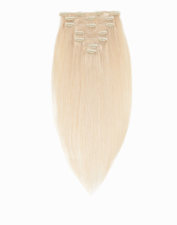 Rapunzel Of Sweden 50 cm Clip-On Set Original 7 pieces Light Blond