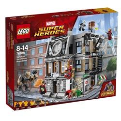 76108 LEGO Super Heroes Opgør i Dr. Stranges allerhelligste - wupti.com