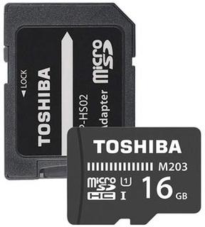 Toshiba M203 MicroSDHC Hukommelseskort THN-M203K0160EA - 16GB