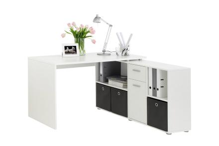 LEXIS Skrivebordsmøbel 136 Hvit -