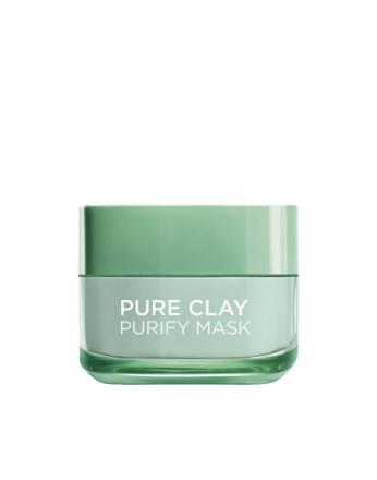 L'Oréal Paris Pure Clay PURIFY Mask Grønn