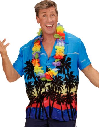 Hulakungen – Hawaiiskjorta