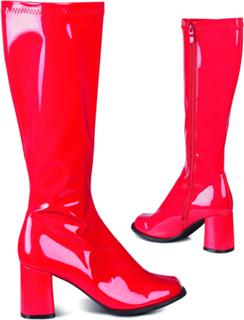Røde Retro Boots