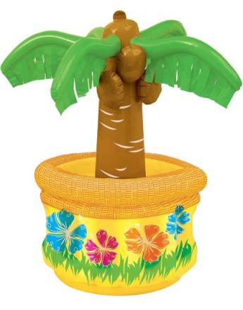 Oppblåsbar Palme med Kjølebasseng - 66 cm