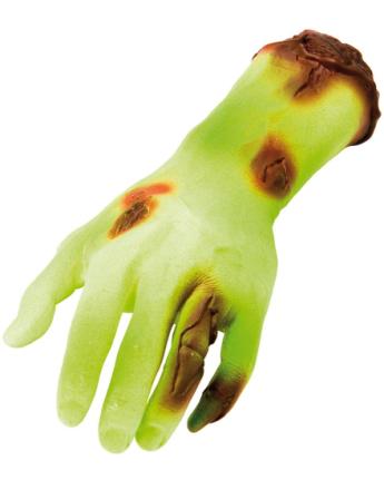 Grønn Frankenstein Monster Hånd 27 cm Figur