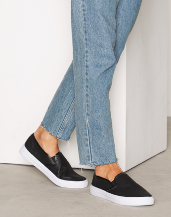 NLY Shoes Slip In Sneaker Svart