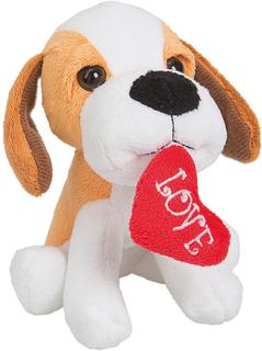 Love - Bamse med Hjerte 14 cm