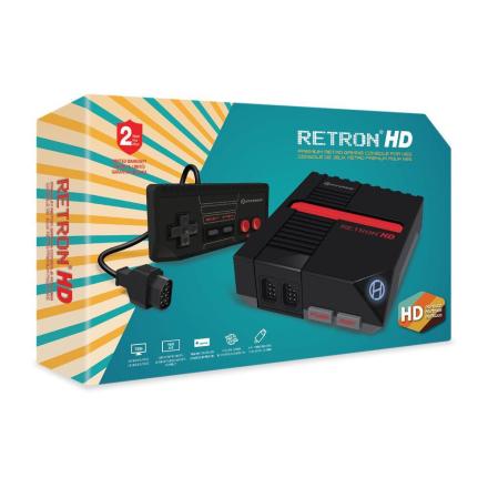 Hyperkin RetroN 1 HD (Black) /Retro Gaming & Microconsoles