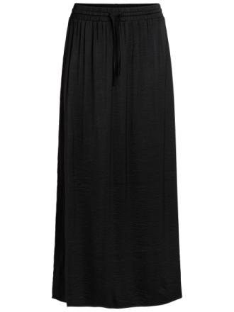 VILA Spring Maxi Skirt Women Black