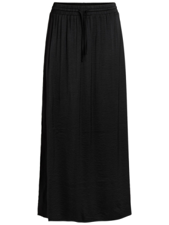 VILA Simple Maxi Skirt Women Black