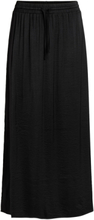 VILA Spring Maxi Skirt Women Black