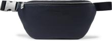 Hugo Boss - Crosstown Full-grain Leather Belt Bag - Blue