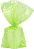 30 st Limegröna Godispåsar i Plast
