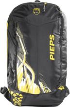 Pieps Jetforce Rider 10 Avalanche Backpack black/yellow 2018 Lavinryggsäckar
