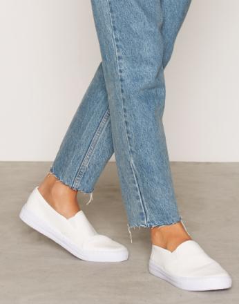 NLY Shoes Slip In Sneaker Hvit