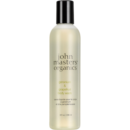 Geranium And Grapefruit 227ml John Masters Organics Suihkugeelit
