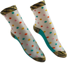 Everneed Cerise Stockings Multi Color Aqua One Size