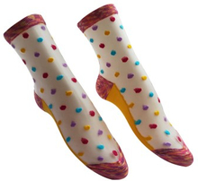 Everneed Cerise Stockings Multi Color Yellow One Size