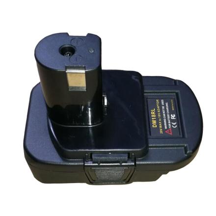DM18RL Battery Converter Adapter USB DM20ROB For RYOBI Convert DEWALT 20V Milwaukee M18 to 18V NiCad NiMh Battery P108 ABP1801