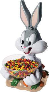 STOR Lisensiert Bugs Bunny Figur med Skål 53 cm